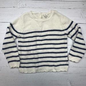 Toddler Girl Striped Sweater
